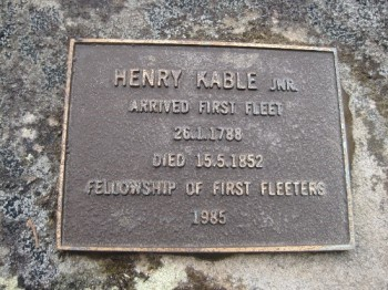 henry Jr FFF plaque