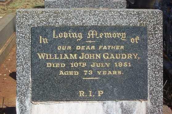 HS William John Gaudry