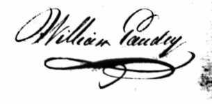 sign william gaudry
