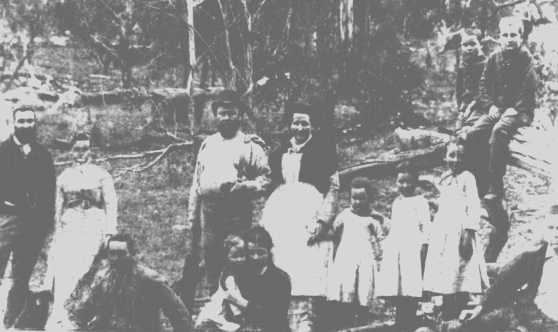 Howard family Xmas 1890 Bundarra