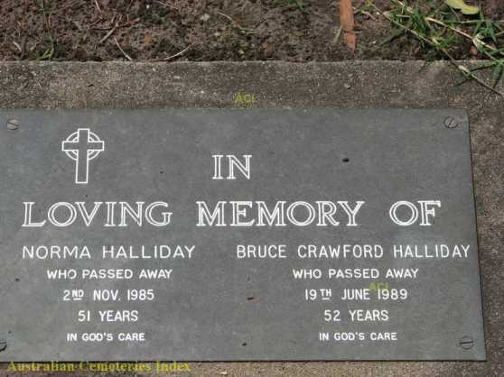HS Bruce and Norma Halliday