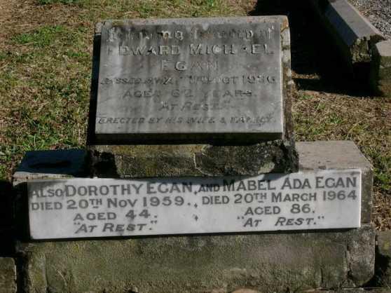 HS Edward Mabel and Dorothy Egan