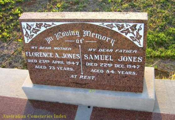 HS Florence and Samuel Jones