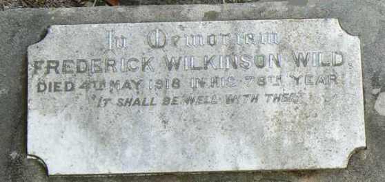 HS Frederick Wild