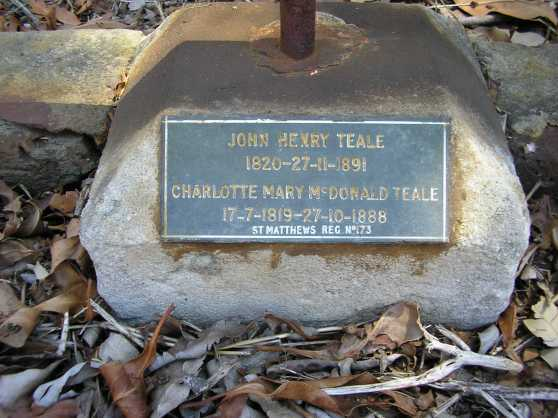 HS John Henry Teale and Charlotte Sommers