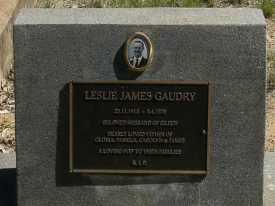 HS Leslie J Gaudry