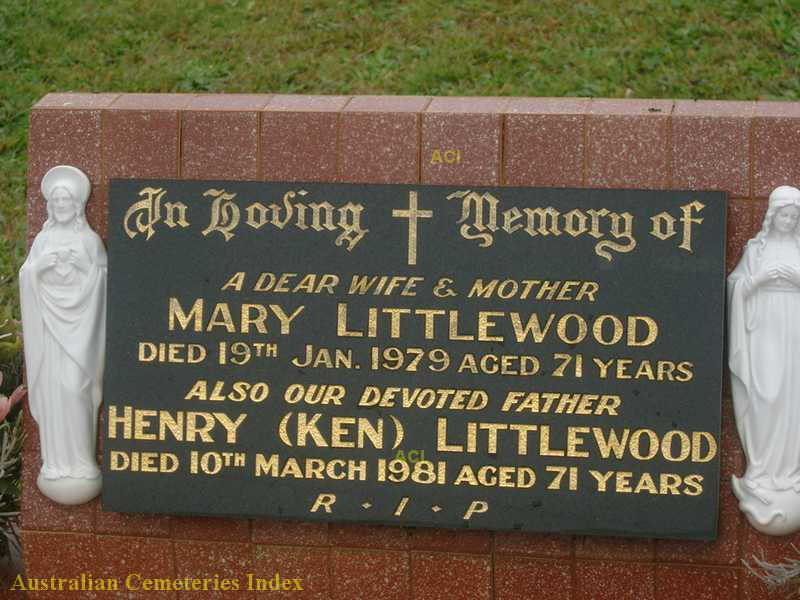 HS Mary and Henry Littlewood Wintle