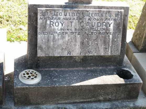 HS Roy T Gaudry