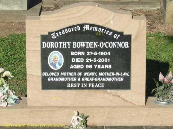 HS Dorothy Hall Bowden OConnor