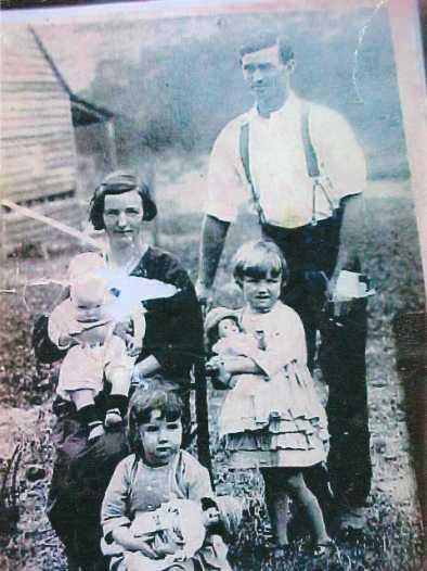 Lavender Dulcie and Daniel with 3 eldest kids