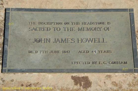 JJHowell grave